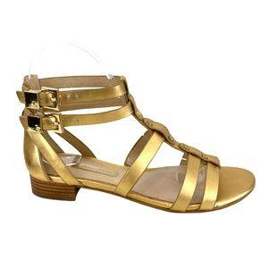 Louise et Cie Apolla GoldMetallic Gladiator Sandal